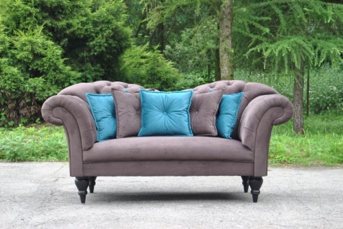 Pikowana Sofa Chesterfield Ferrara